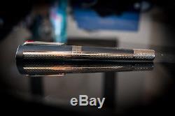 Montegrappa Bugatti Pur Sang Matte Black/Ruthenium Rollerball Pen