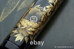 NAMIKI EMPEROR N°50 CHINKIN PEONY FLAT TOP FOUNTAIN PEN Yasuji Sumi YEAR 2009 M