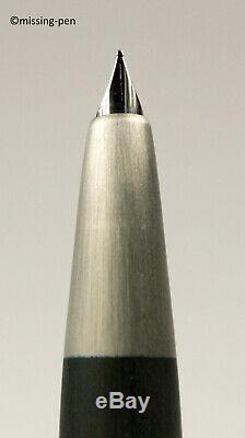 NEW LAMY 2000 Piston Fountain Pen in Matte Black Makrolon model 01 with 14K nib