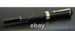 NEW Montblanc Bonheur Nuit Collection Shiny & Matte Roller-Ball Pen 117474