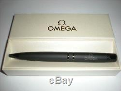 NEW Omega Matt Black Metal Pen