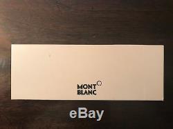 NEW Rare Mont Blanc Scenium Ballpoint Pen, Original Box Matte black + gold