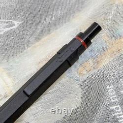 NOS Mint Rotring 600 Newton Matte Black Ballpoint Pen Germany 1990s