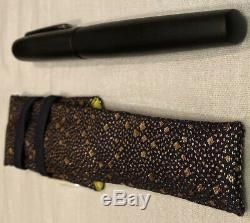 Nakaya Neo-Standard Matte Black Hairline F Nib