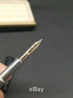 Namiki Retractable Vanishing Point Capless Matte Black Fountain Pen Nib B Japan