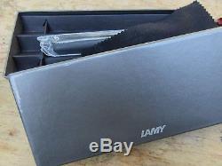 New Lamy Persona Black Matt Anodized Fountain Pen 14k Medium Nib