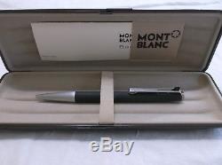 New Montblanc Ballpix Pen # 782 Matte Black / Chrome Matte Finish