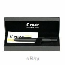 New! Pilot Fountain pen Capless Matte Black Medium nib FC18SRBMM from japan