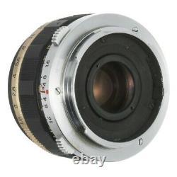OLYMPUS PEN FT FILM CAMERA 38mm F1.8 REPAINTED SANDSTONE FLAT BLACK / CLA'D