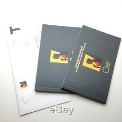 OMAS Bologna Matt Black Fountain Pen 14K-585 Medium Hand crafted in Italy