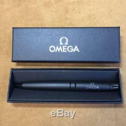 OMEGA Ballpoint Pen Matte Black with Box Giveaway New