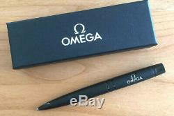 OMEGA Watch Genuine Novelty Ballpoint Pen Matte Black VIP Gift Limited Rare