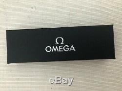 Omega Matt Black ball point pen in presentation box