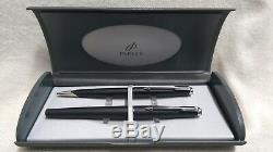 Parker 50 Falcon set fountain ballpoint pen black Matt USA