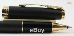 Parker Sonnet Transformation Matt Black With Gold Trim Roller Ball Pen Splendid