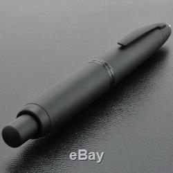 Pilot Namiki CAPLESS Fountain Pen Matt Black Extra Fine Nib FC-18SR-BM-EF