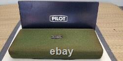Pilot Namiki Capless Matt Black (Stealth) Fountain Pen 14K M nib Discontinued