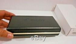 Pilot Vanishing Point Fountain Pen Gun Metal Gray & Matte Black 18K Fine Box