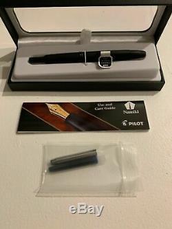 Pilot Vanishing Point Fountain Pen Matte Black Fine New Minnesota Seller