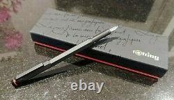 ROtring Newton Matte Black Fountain Pen Medium nib