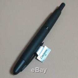 Rare Limited PILOT Capless Decimo Matte black Nib M 18K Gold Fountain Pen