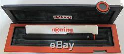 Rotring Quattro Matte Black- Black & Red Pen 0.5 Pencil & Hiliter 45695 Mint