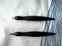 Rotring Rive Fountain Pen and Rollerball Stilografica F in Matte Black
