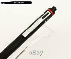 Rotring Trio-Pen Matte Black (0.3mm / 0.5mm / 0.7mm) Pencil with red lettering