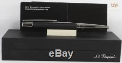 S. T Dupont Defi Matt Black With Gun Metal Body Roller Ball Pen Splendid Design