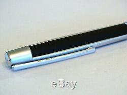 S. T. Dupont Defi Matte Black & Chrome Ballpoint Pen New In Box