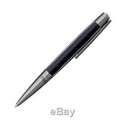 S. T. Dupont Defi Matte Black & Gunmetal Ballpoint Pen 405707 New in Box