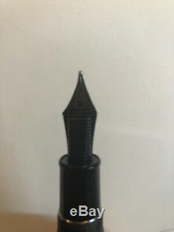 Sailor King of Pens Fountain Pen, Ebonite, Matte Black, Naginata Togi Broad Nib