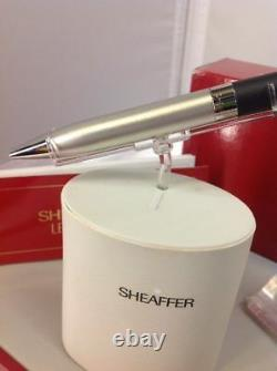 Sheaffer Legacy 2 White Dot Matte Black Palladium Ballpoint Pen Medium Point NOS
