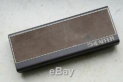 Sheaffer TARGA Slim set (fountain pen + Ballpoint) NEW Matte Black 1st edition