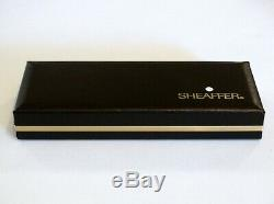 Sheaffer Targa 1003 Matte Black Fountain & Ballpoint Pens With 14k Gold Nib -nos