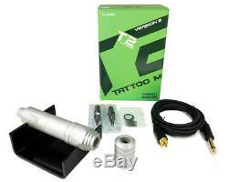 T2 CLASSIC Tattoo Pen Rotary Machine Motor Needle Cartridge Liner & Shader RCA