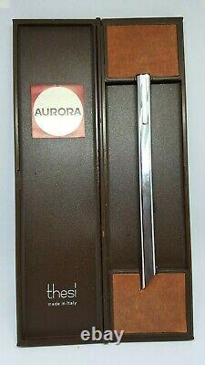 Vintage AURORA Thesí ultra flat ballpoint 1970