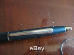 Vintage Cross Matte Black Gold Mechanical Pencil Eli Becker
