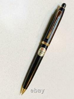 Vintage PILOT fountain pen Rare set Matte black gold