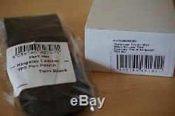 WATERMAN Expert 3 Matt Black Fountain & Ballpoint Pen Gift Set FREE Pen Pouch