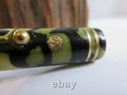 Wahl Eversharp Gold seal Flat top Fountain Pen w 14 kt nib RP15