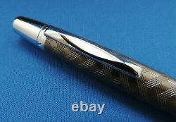 Waterford Kilbarry Rhombus Matte Titanium Rollerball / Ballpoint Pen NIB