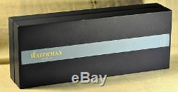 Waterman Expert II Matte Black&CT French Ballpoint pen withOrig. Box