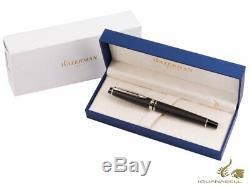 Waterman Expert Rollerball pen, Lacquer, Chrome trim, Matt Black, S0951880