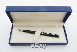 Waterman HEMISPHERE ballpoint pen matt black lacquer and chrome finishes (W59)