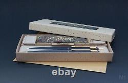 Your Last Pen 14K Gold Parker Lady Classic Matte Navy vintage pen pencil set