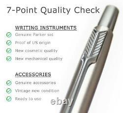 Your Last Pen Parker Lady Classic Matte Windsor Blue vintage pen pencil set